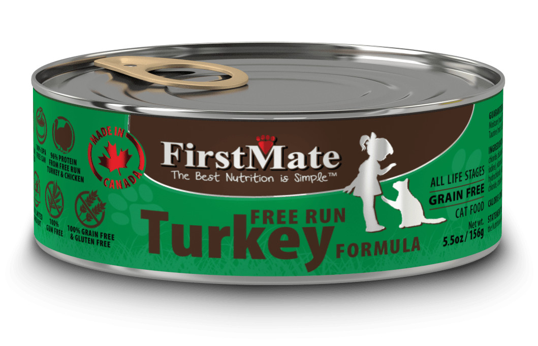 First Mate Turkey Cat Food