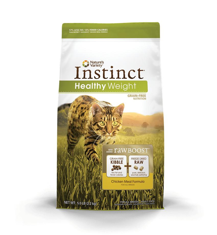 Nature S Instinct Cat Food Chicken Healthy Weight