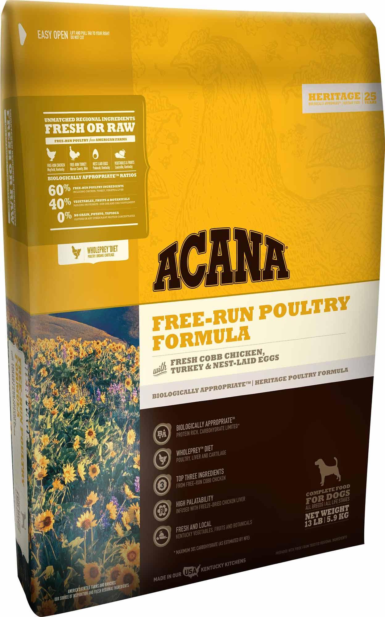 Acana Grainfree Dog Food Canada Sale