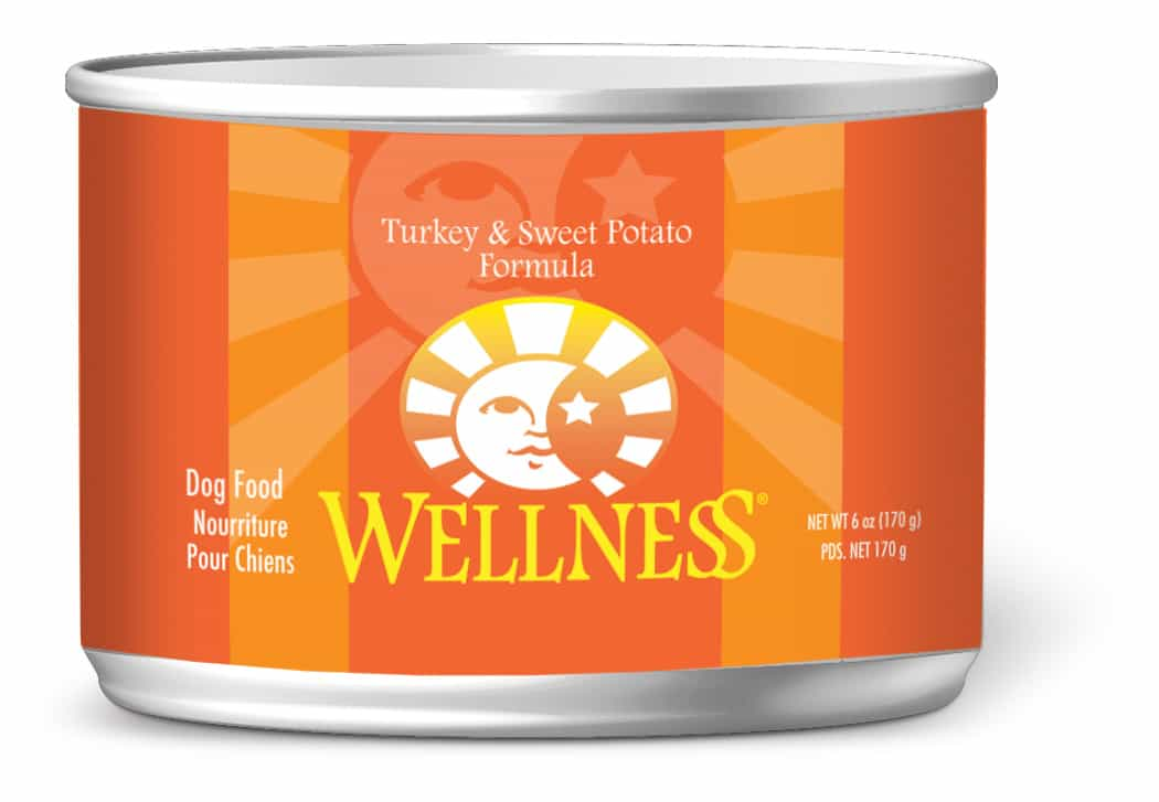 Wellness complete health turkey sweet potato dog food can for Cuisines completes
