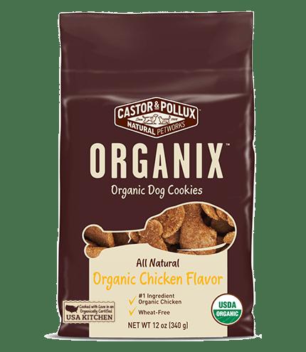 Castor Pollux Organix Chicken Cookies Dog Treats