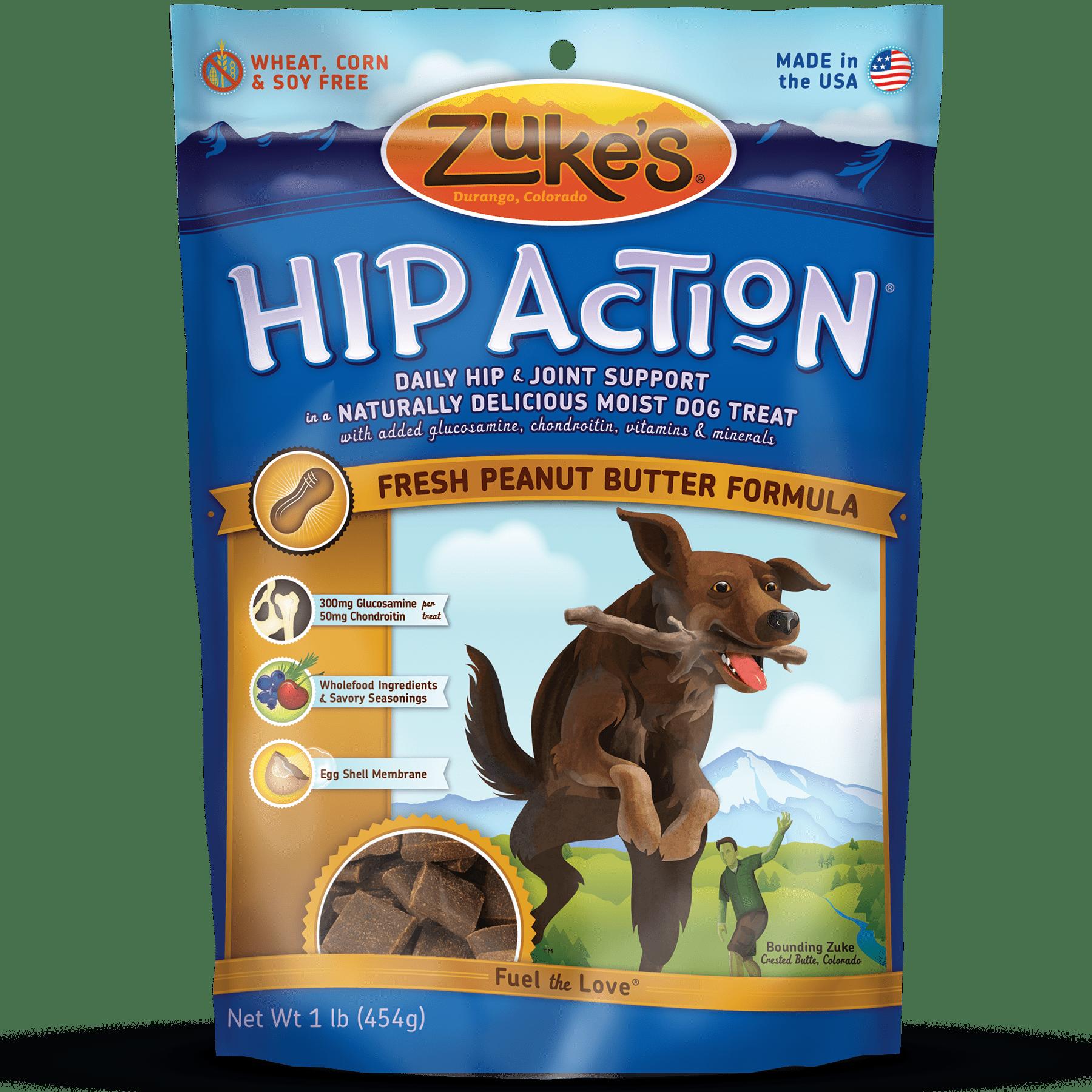 Zukes hip action fresh peanut butter recipe dog joint supplement forumfinder Gallery