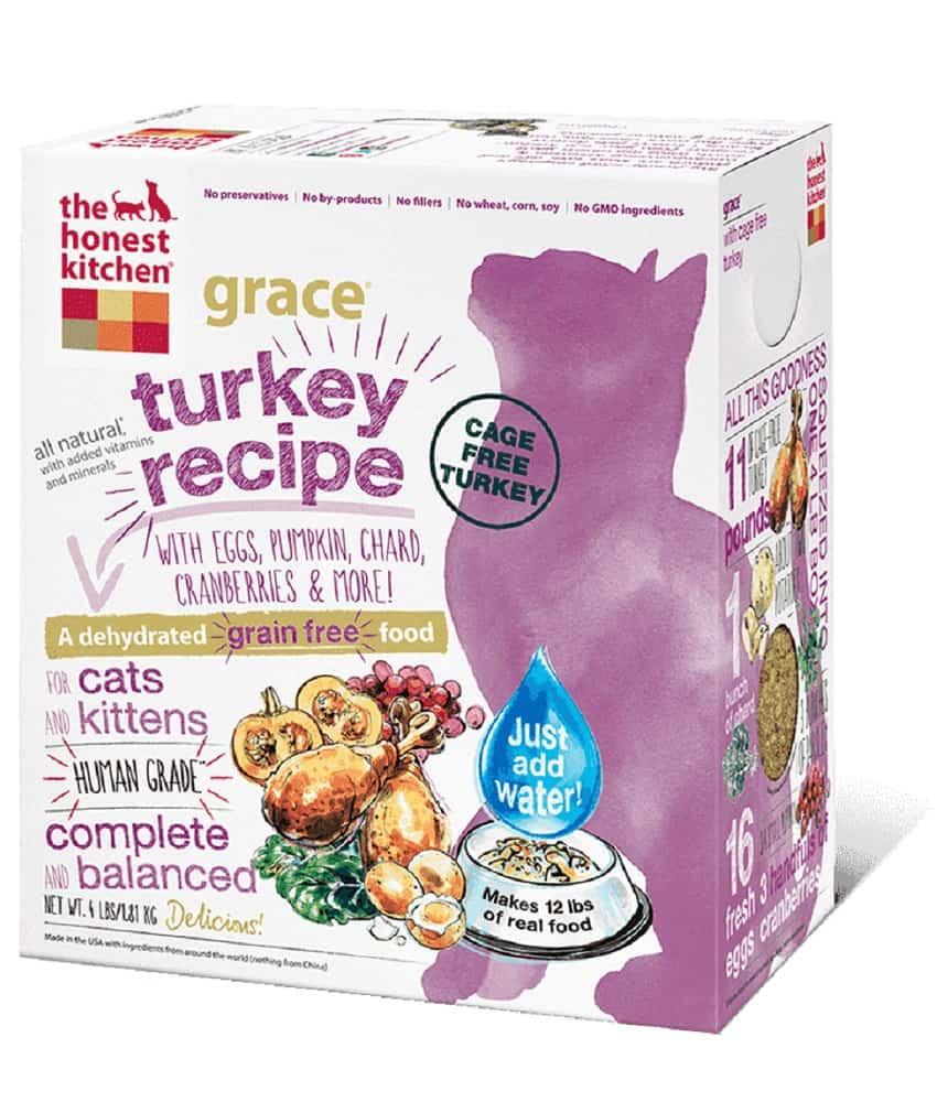 Honest Kitchen Grace Turkey Cat Food Dehydrated